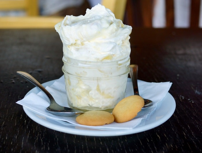 Porch Restaurant Banana Pudding