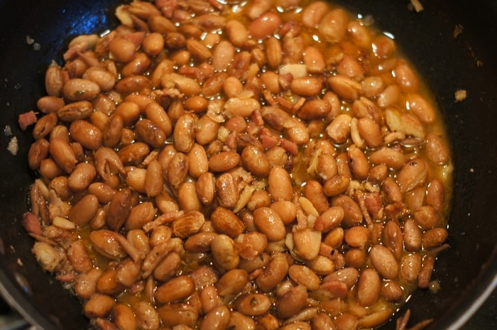 Cranberry Beans & Bacon