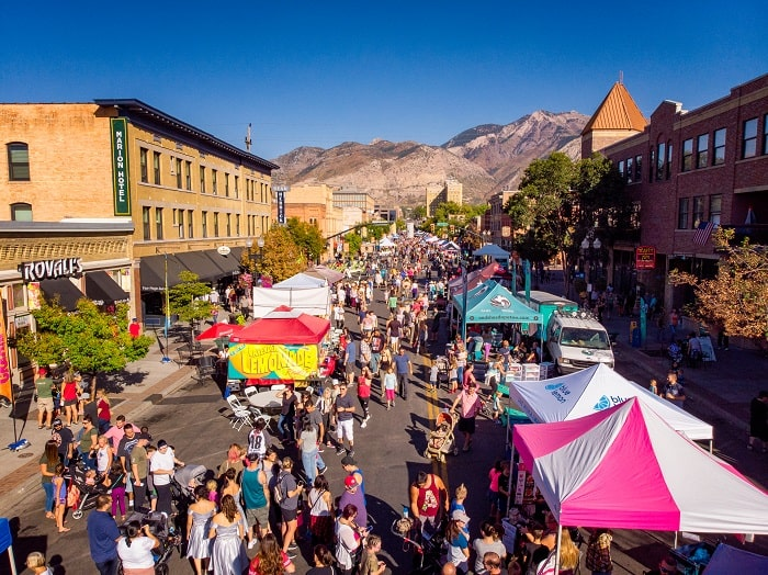 Ogden's 18th Annual Harvest Moon Celebration Historic 25th Street