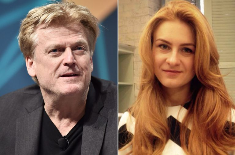 Patrick Byrne and Maria Butina