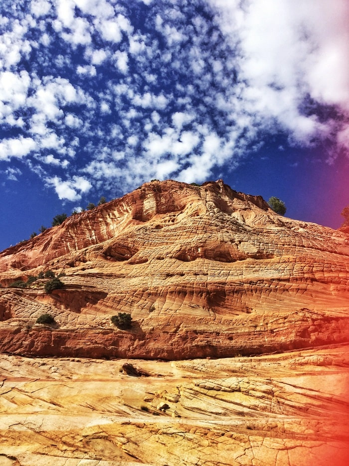 Red Stone in Kanab