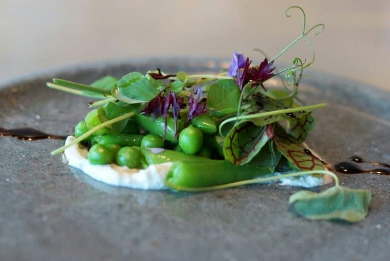 Table X Spring Pea Salad