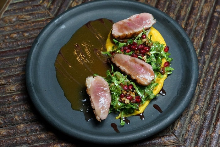 Log Haven Grilled Duck Breas