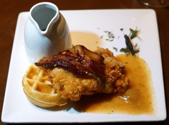 Thistle & Thyme Chicken and Waffles