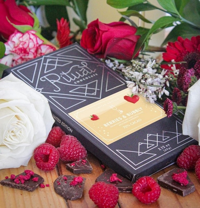 Berries & Bubbly Bar from Ritual Chocolate