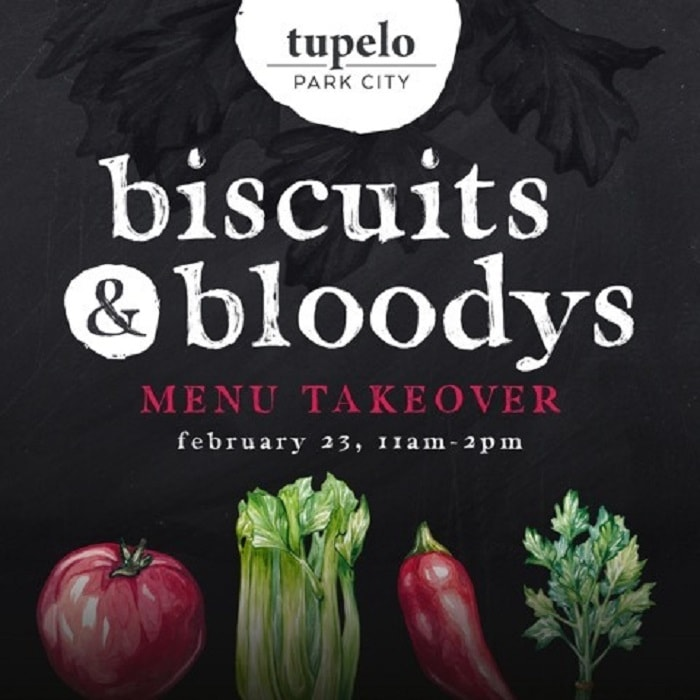 biscuits & bloodys at Tupelo