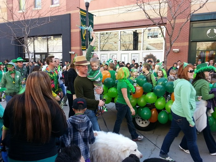 St. Patrick's Day Parade SLC