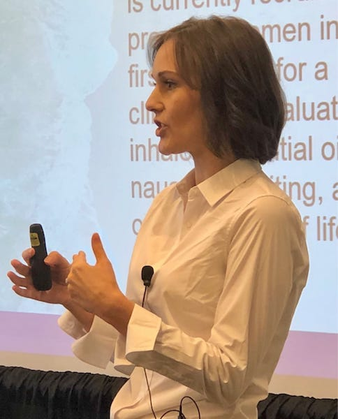 Dr. Jessie Hawkins, an expert in essential oils and public health