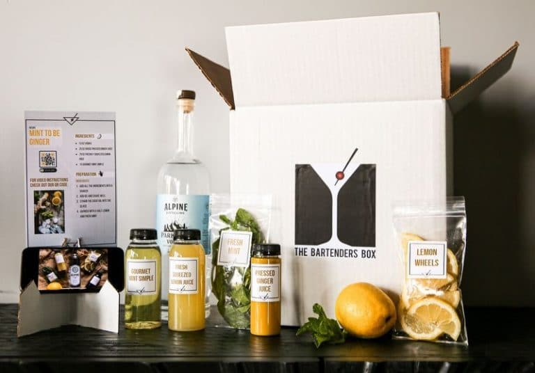 Bartender Box for Creating World-Class Cocktails at Home