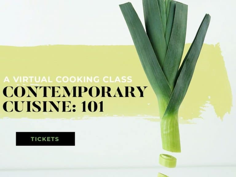 Ogden Contemporary Art will be hosting a virtual cooking class.