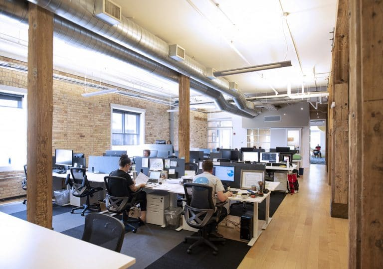 Work Hive coworking space