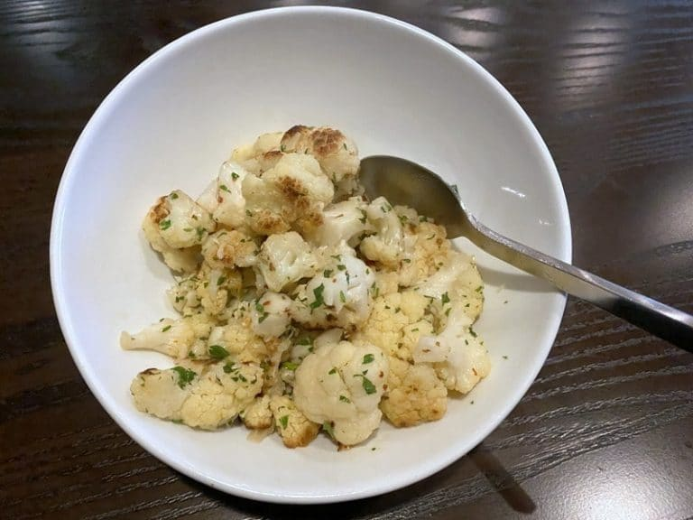 Carson Kitchen Chili Cauliflower