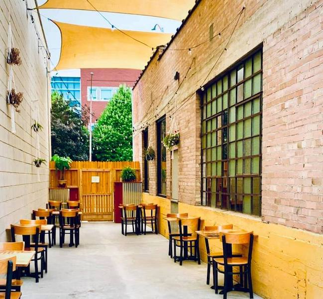 New SLC Eatery Patio Seating