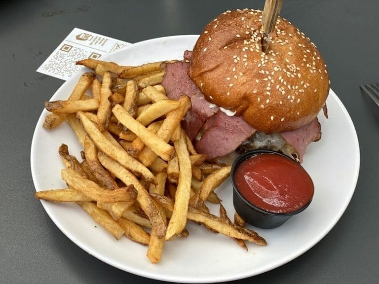 Pastrami Burger From Scratch