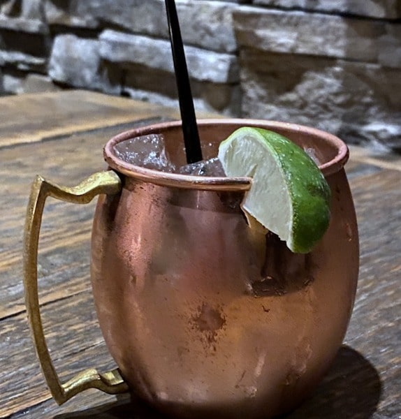 Moscow Mule at Stoneground