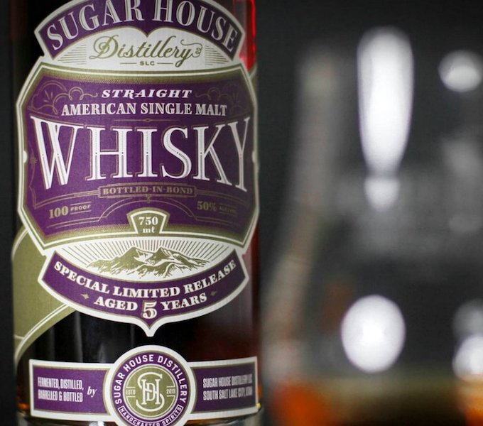 Sugar House Distillery bottled-in-bond whiskey