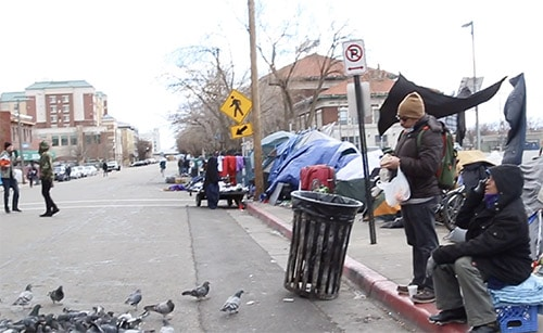 The homeless problem in Downtown Salt Lake City