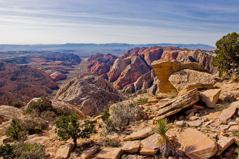 Red Mountain Trail in Snow Canyon State Park.