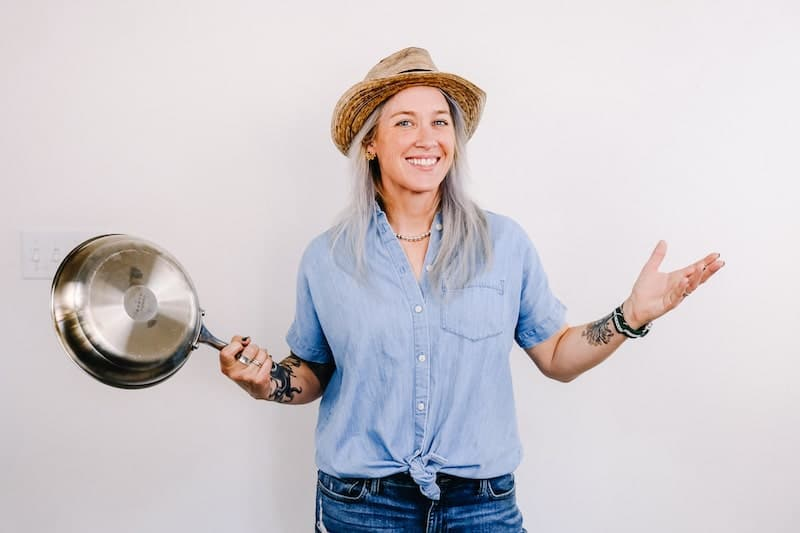 Amy Wanderly-Britt of Pig & A Jelly Jar, Pig Kitchen, and WB's Eatery. Photos by Dung Hoang.
