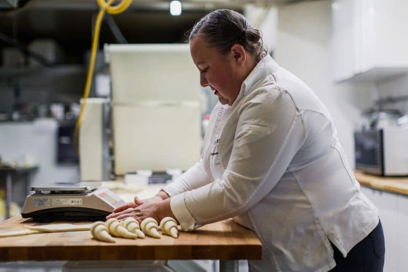 Romina Rasmussen — owner and chef at Les Madeleines